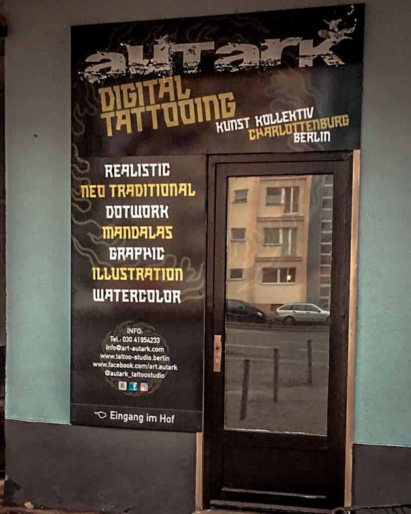 Autark digital tattooing